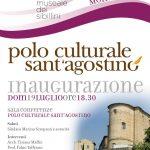 Invito inaugurazione – Sant'Agostino
